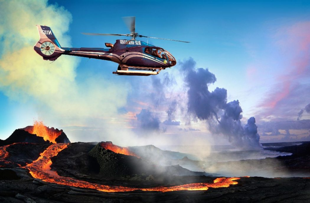 Helicopter Tours of Hawaiian Volcanos