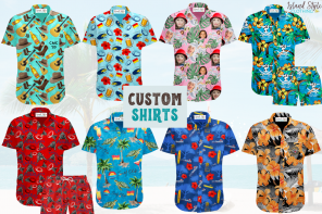 Custom Hawaiian Shirts with Your Logo Surf Club, Rugby, Cricket, Bar, Uniform